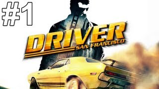 Driver San Francisco Gameplay Walkthrough Part 1 No Commentary