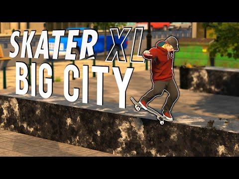 Exploring A BIG CITY In Skater XL! | NS AND CHILL EP. 32
