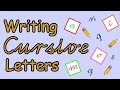 How to Write in Cursive  |  English Letter Formation