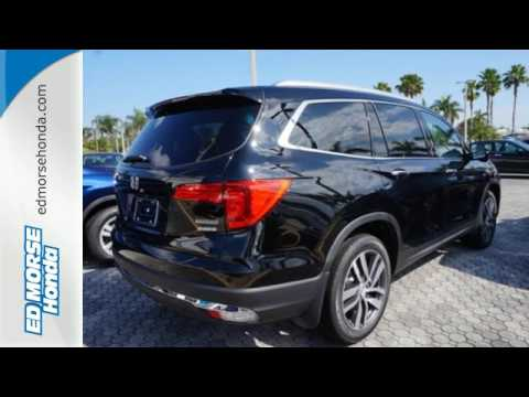 New 2017 Honda Pilot West Palm Beach Juno, FL #HB003753 - SOLD