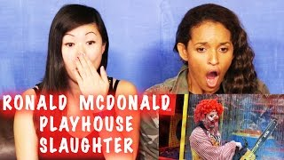 RONALD MCDONALD PLAYGROUND SLAUGHTER REACTION!