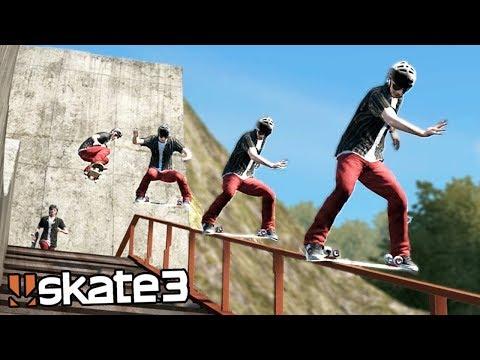 Skate 3: INSANE DARK SLIDE TRICK? | Epic Challenges!