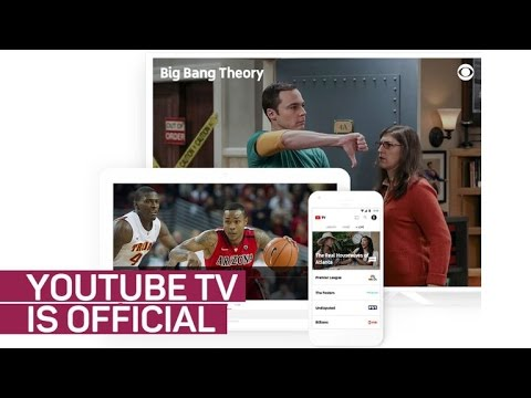 YouTube TV Is Google's New Live TV Streaming Service (CNET News)