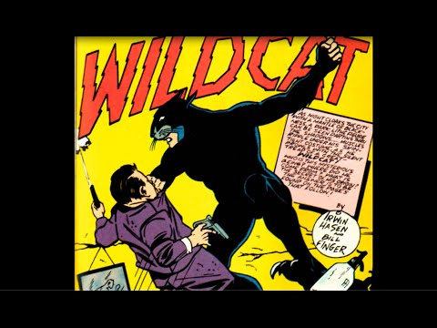 "WildCat: Sensation Comics #1, ""The Story of WildCat"""