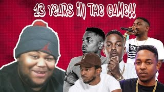 The Evolution of Kendrick Lamar (2004-2017) Reaction