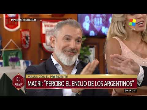 ¡Desopilante! Claudio Rico la rompió con su reportaje entre Macri y Majul
