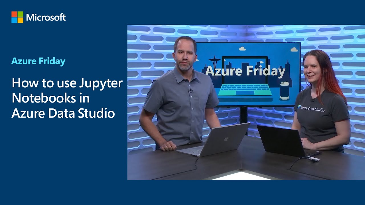 How to use Jupyter Notebooks in Azure Data Studio | Azure Friday