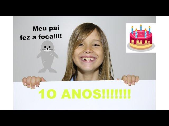 MEU ANIVERSÁRIO DE 10 ANOS!!!!!!!! - Aris.TV, Ep. 66