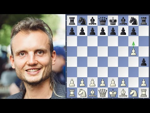 Chess Grandmaster Goes Nuts With Grob Attack