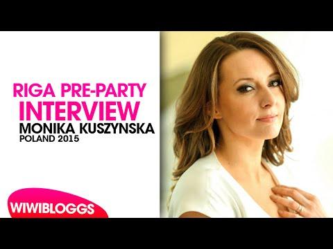 Interview: Monika Kuszyńska (Poland 2015) Eurovision Pre-Party Riga 2015 | wiwibloggs