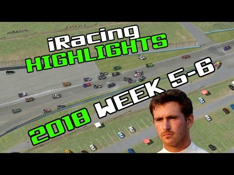iRacing Twitch Highlights, 2018 Week 5-6 (Fails and Funny Moments)