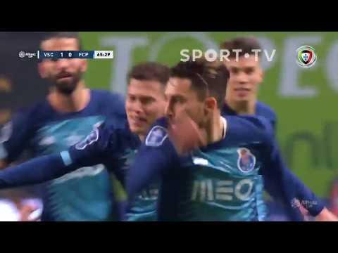 Goal   Golo Alex Telles: Vitória SC 1-(1) FC Porto (Taça Da Liga 19/20 - 1/2 Final)