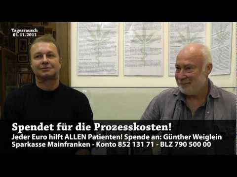 Eigenanbau für Patienten - Tagesrausch 01.11.2011
