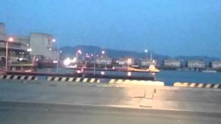 イカ釣り広島市西区草津漁港