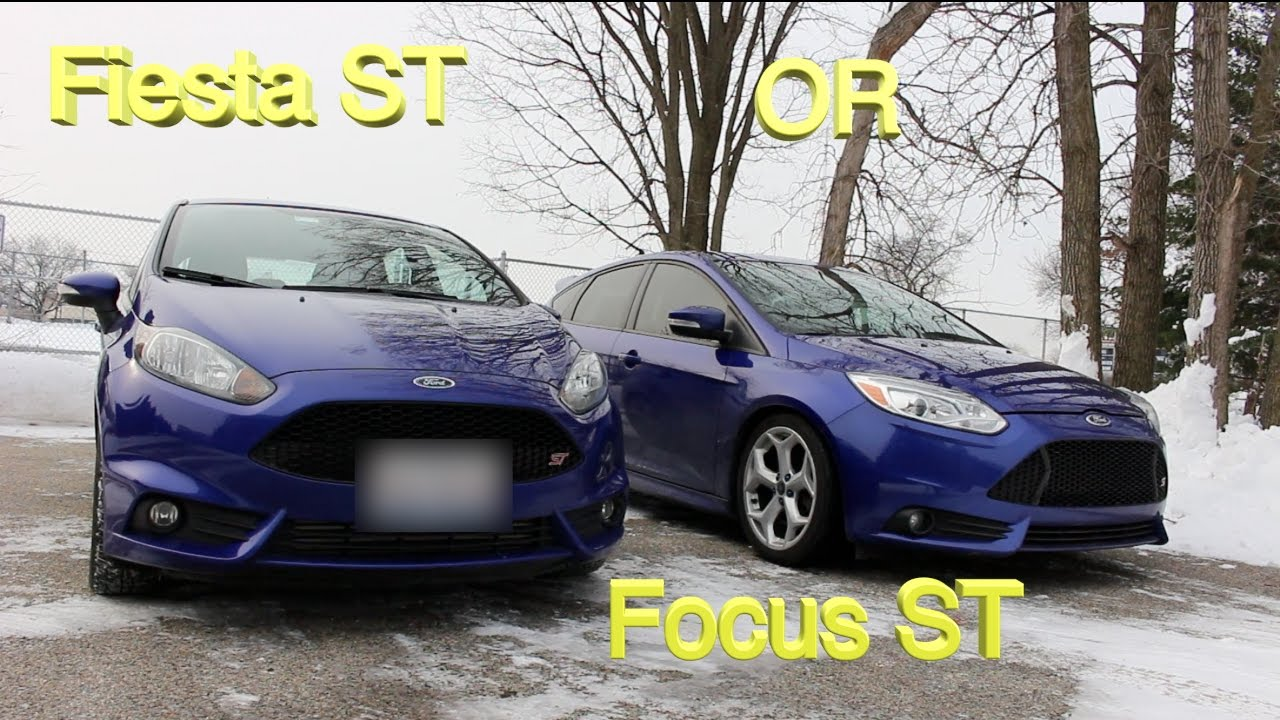 which is best fiesta st vs focus st youtube. Black Bedroom Furniture Sets. Home Design Ideas