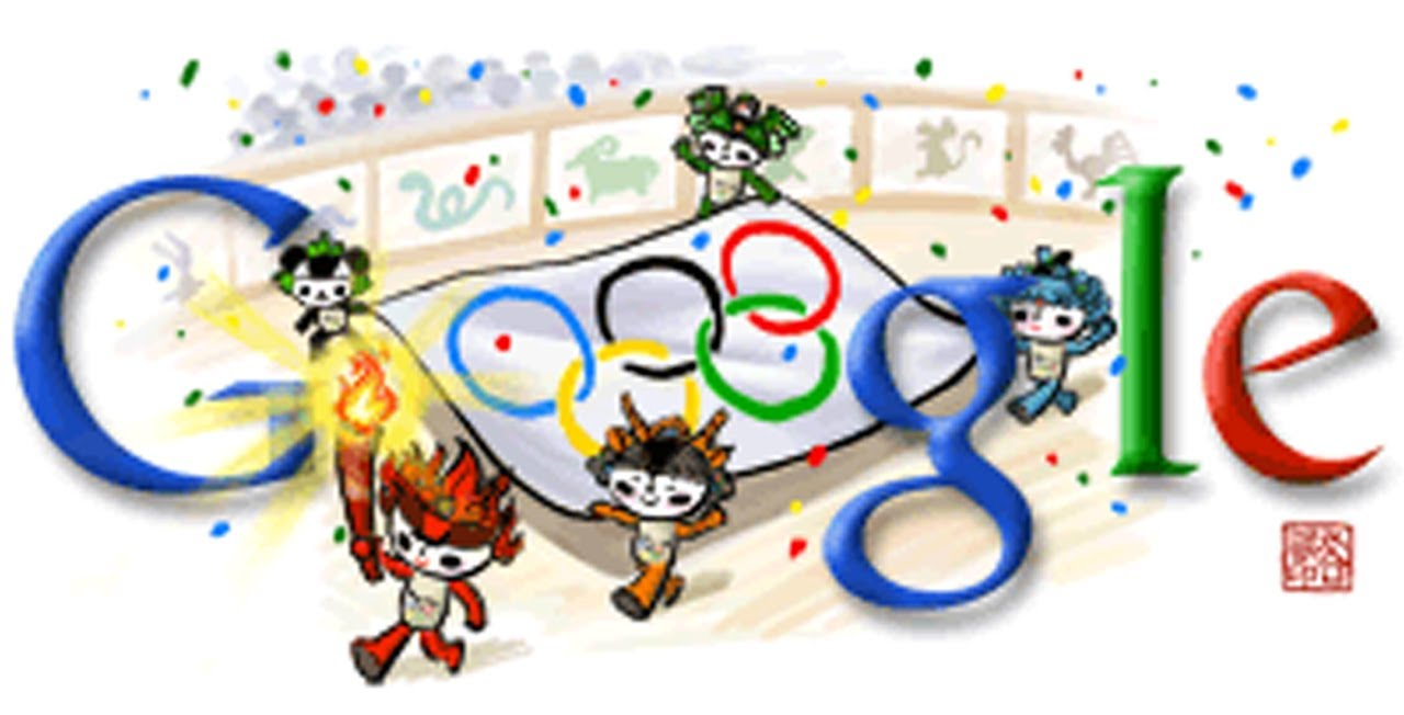 All Olympics Doodles 2008 Beijing Youtube