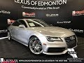 Used Silver 2013 Audi A7 3.0 Premium Walkaround Review Airdrie Alberta