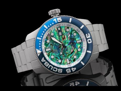Invicta 22083 50mm TI-22 Abalone Dial Titanium Automatic Bracelet Watch