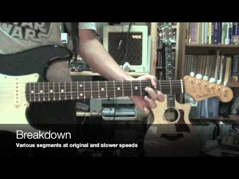 Keith Urban - 'til Summer Comes Around - Intro Guitar Tutorial - Fender BLK1 John Mayer Stratocaster