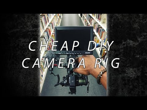 I Build My Own DIY Camera Cage Rig Setup