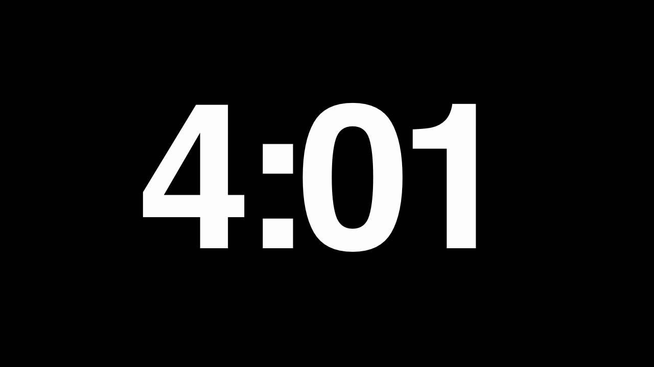 timer 5mins