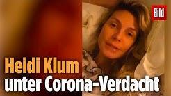 Heidi Klum unter Corona-Verdacht