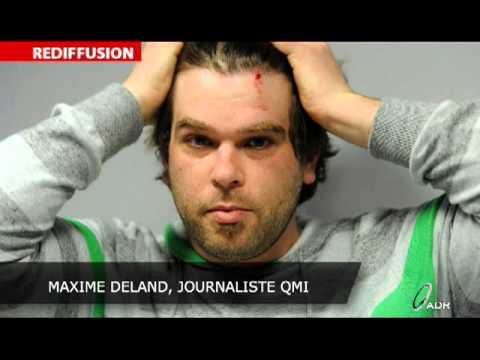Un photographe-reporter se fait attaquer par des étudiants
