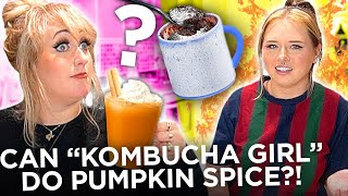 Chaotic Roomies Making Mug Cake & Pumpkin Spice Latte | Dish This w/ Brittany Broski & Sarah Schauer