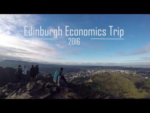 Edinburgh Economics Trip (Plymouth University) - 2016