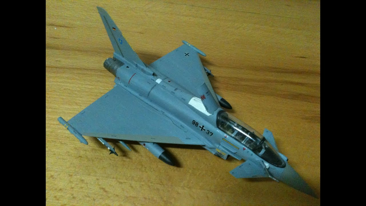 revell eurofighter typhoon model kit 1 72 youtube. Black Bedroom Furniture Sets. Home Design Ideas