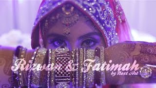 INDIAN MUSLIM WEDDING : Rizwan + Fatimah // Henna Night | Solemnization by NEXT ART