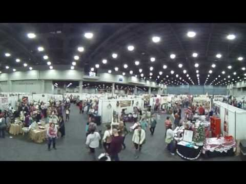 Greater Cincinnati Holiday Market 360 Degree Interactive Video