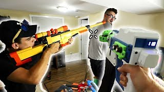 YOU LOSE, YOU GET SHOT BY MODDED NERF GUNS! (AirConsole!)