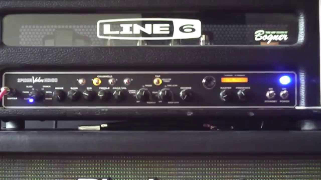 line 6 spider valve hd 100 head recorded with zoom q2 hd youtube. Black Bedroom Furniture Sets. Home Design Ideas