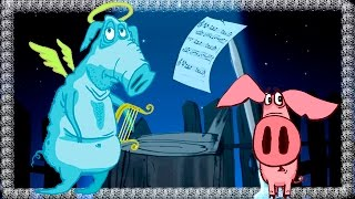 Piglet - Part 5 - The Ghost   3D Animation Kids Videos   Full Episodes