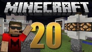 Iluminação com sensor de luz solar - Minecraft Em busca da casa automática #20
