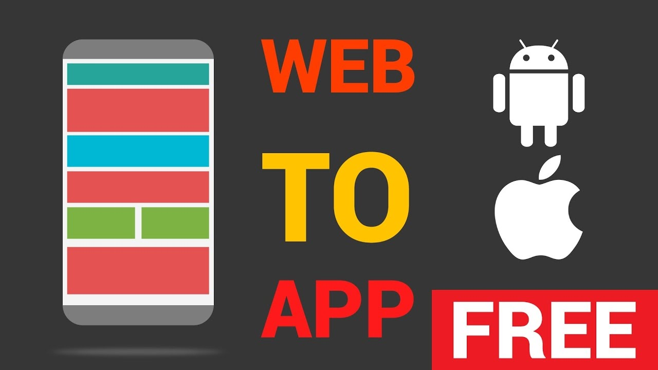 Free App Website how to convert your blog/website in to an app without coding/pc ?
