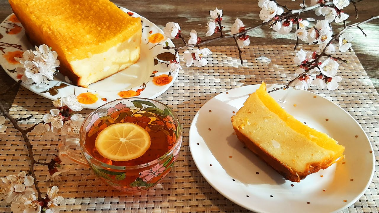 Королевская творожная запеканка с апельсином.
