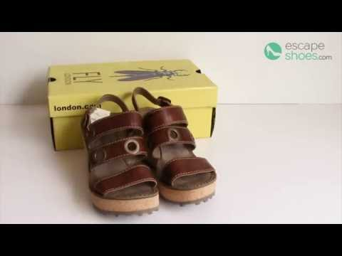 Unboxing - FLY LONDON Glam Guse644 Tan P143644001