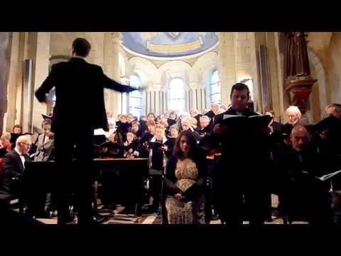 Robert Getchell solo tenor Sanctus Messe Ste Cécile Gounod