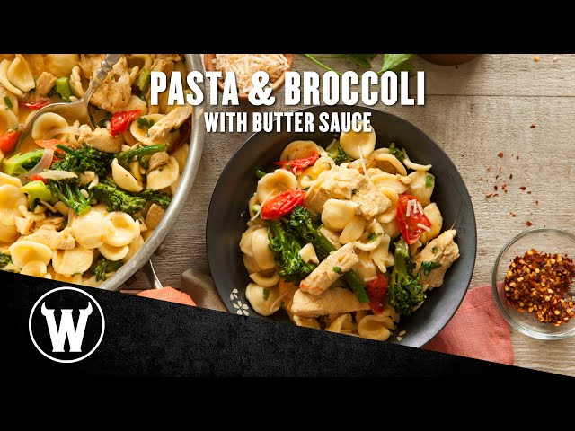 VEGAN 1-POT MEAL! Pasta & Broccoli with Butter Sauce | The Wicked Kitchen | S2 • E15