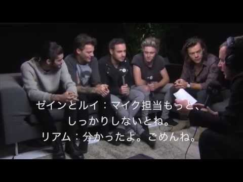 One Direction & Scott Mills At A Secret Location Part 1 和訳