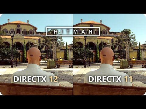 HITMAN 2016 DirectX 12 vs DirectX 11 | GTX 1070 Frame Rate Comparison