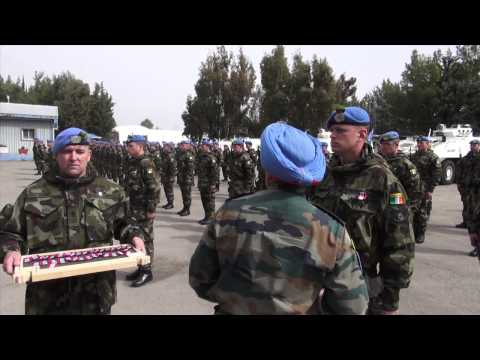 St Patricks Day in UNDOF Syria