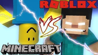 Monster School : VS ROBLOX the movie - Minecraft Animation