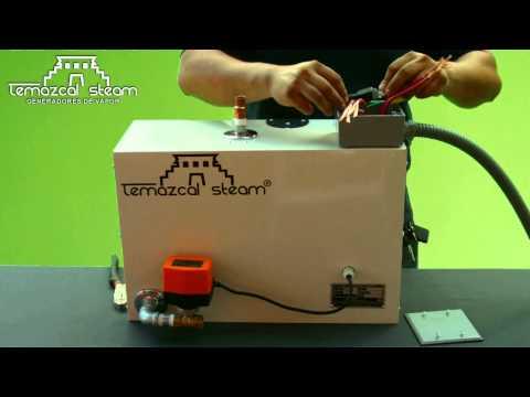 Instalación de equipo de vapor Temazcal Steam en 6 minutos