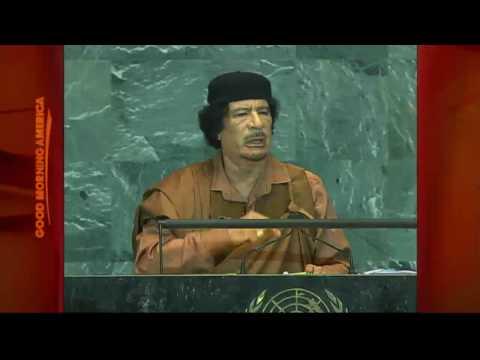 Where Did Gadhafi Sleep?