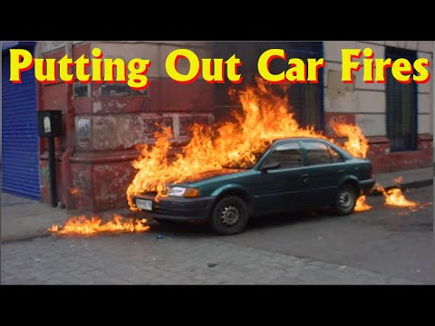 Fire Trucks in Action!: Putting out Car Fires