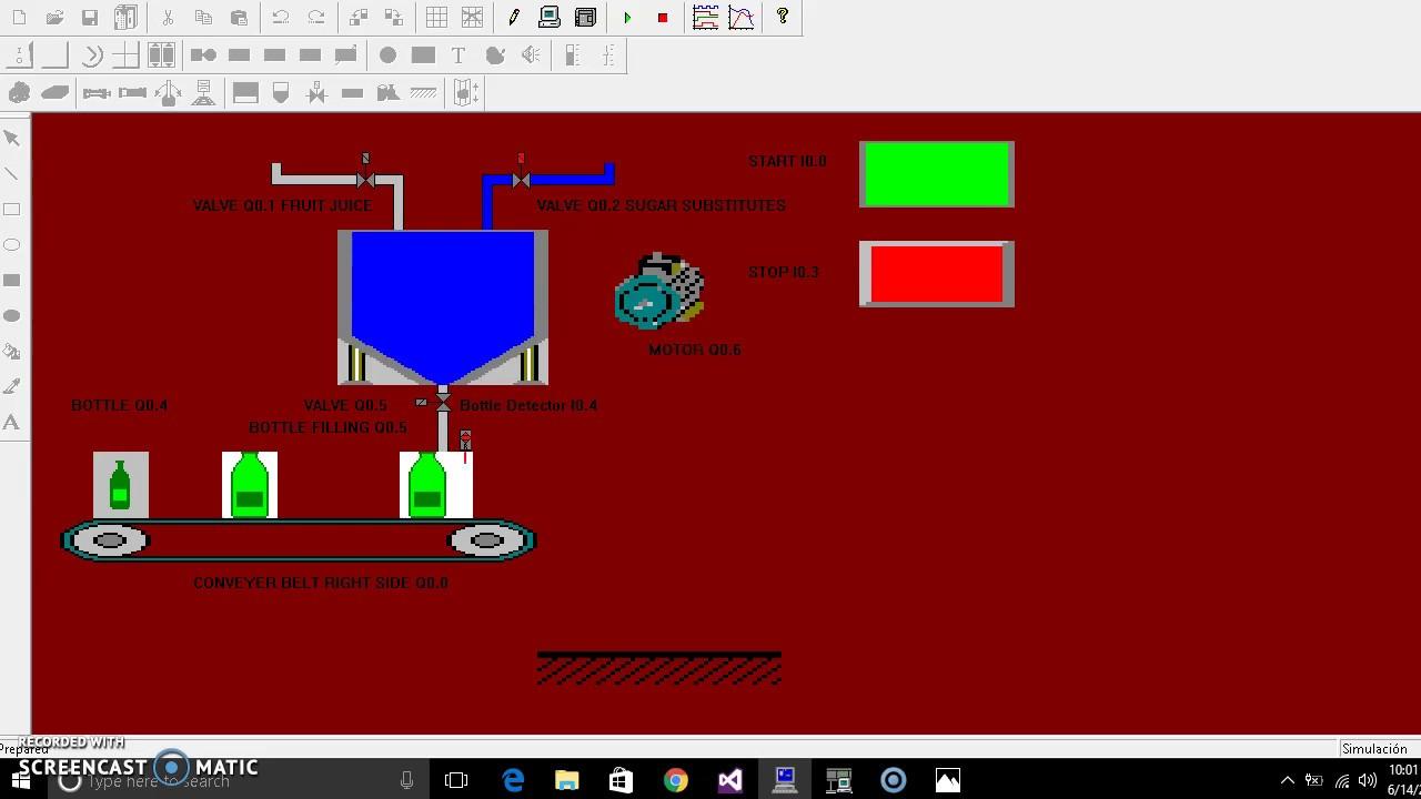 Plc automatic bottle filling s7 200 youtube plc automatic bottle filling s7 200 ccuart Gallery