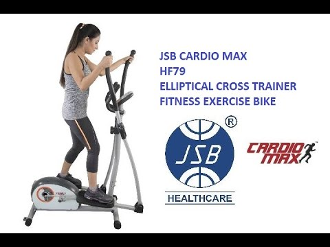 Cardio Elliptical Trainer Fitness Bike Exercise Cycle Jsb Cardio Max Hf79 Reviews
